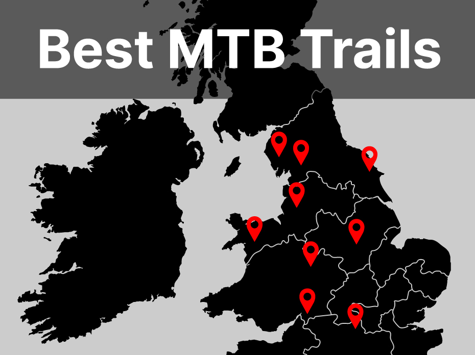 The best Mountain Bike venues in the UK.