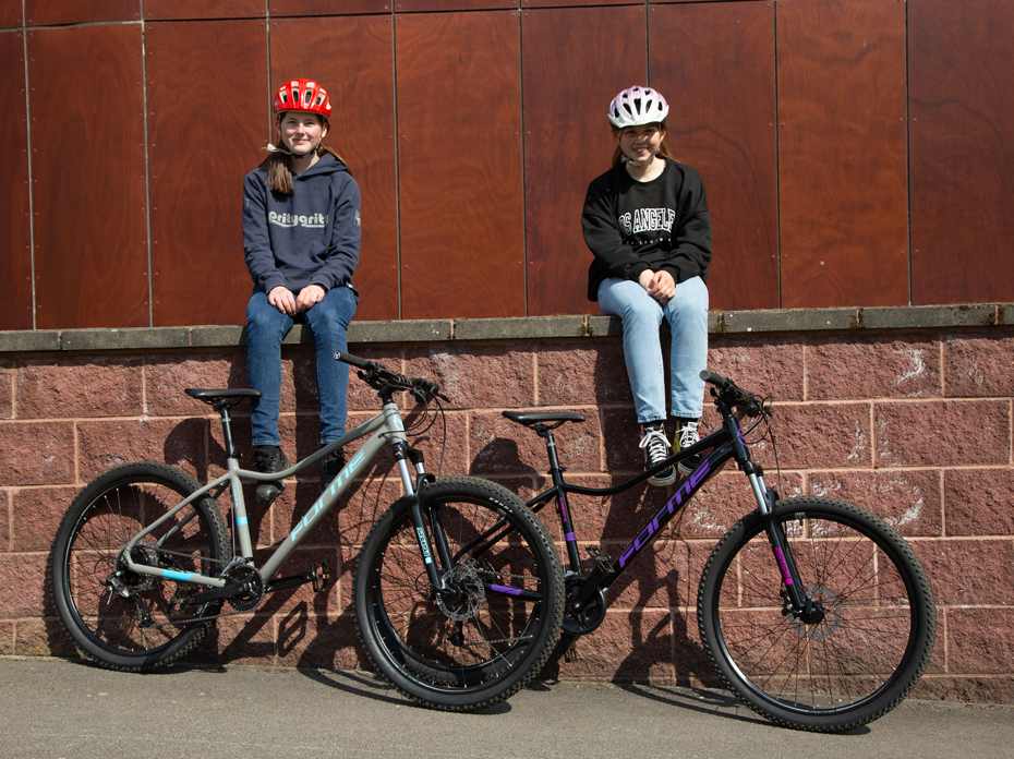 Mission to get girls on bikes!